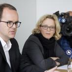 Markus Rinderpacher und Natascha Kohnen